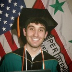 Michael Safyan's graduation photo